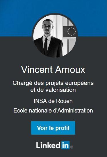 Profil Linkedin de Vincent Arnoux