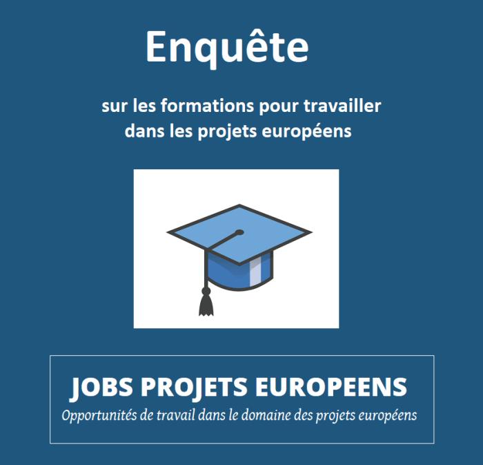 Projets européens Vincent ARNOUX Enquete