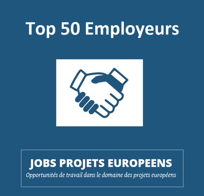 Projets européens Vincent ARNOUX Top Employeurs